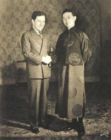 Peking opera Mei Lanfang meeting Charlie Chaplin