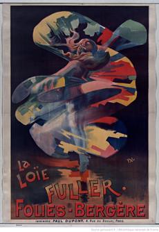 La Loïe Fuller, Folies-Bergère, 1897