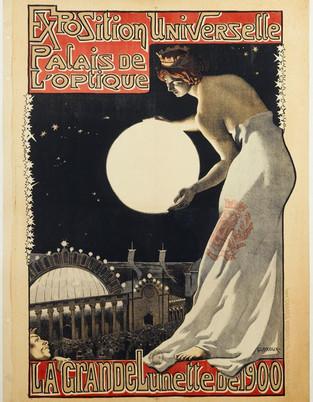 La Grande Lunette de 1900, Exposition Universelle, Palais de L'optique, 1900.