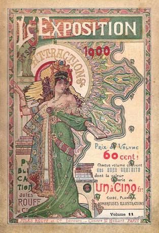 L'exposition et ses Attractions 1900.