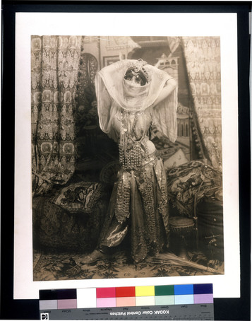 """Princess Omena #1."" (Taken during the 1904 World's Fair). Gerhard Sisters, photographer"