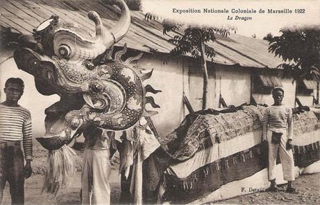 """""""Le Dragon."""" 1922 Marseille Colonial Exhibition"""