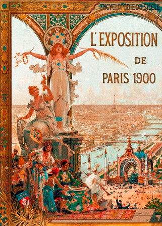 Poster of the Exposition Universelle (1900).