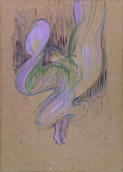 Henri de Toulouse Lautrec, Loie Fuller aux Folies Bergères, 1892