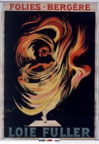 Folies-Bergère. Loïe Fuller, 1898
