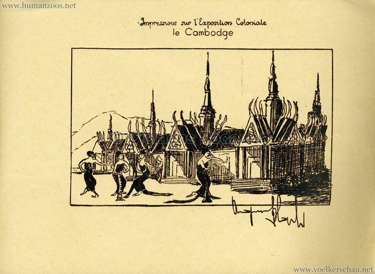 1931 Exposition Coloniale Paris, Cambodia