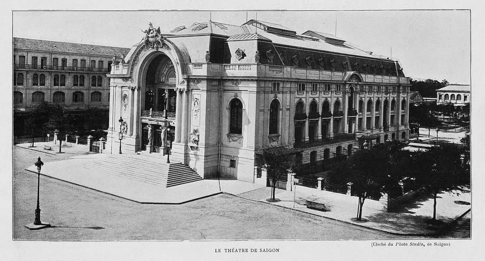 """Le Théatre de Saigon."" 1906 Marseille Colonial Exhibition"