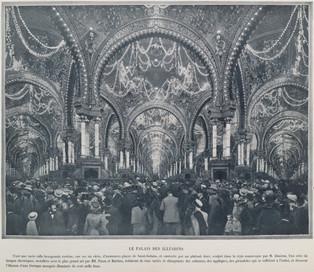 Le palais des illusions, 1900.