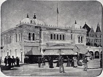 """Algerian Theatre."" Buel, J.W. Magic City. St. Louis: Historical Publishing, 1894."