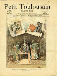 1889.08.24 Le Petit Toulsaine - Exposition Universelle - Le Theatre Annamite