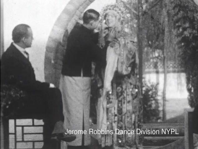 Denishawn Oriental Tour in Beijing, 1925