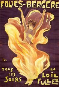 Folies-Bergère. Tous les soirs la Loïe Fuller, 1897
