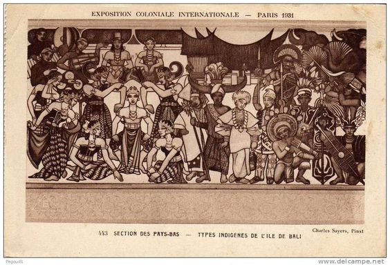 Exposition Coloniale Internationale, Paris, 1931. Balinese theater.