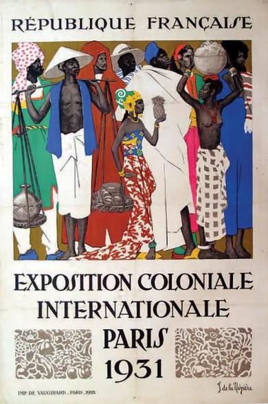 Exposition Coloniale Internationale Paris 1931 Poster