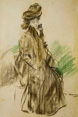 Sada Yacco (1902) by Ramon Casas