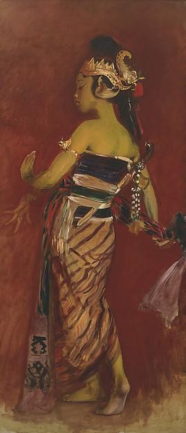 Sargent_A Javanese Dancing Girl_1889