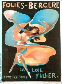 Affiche Folies Bergère La Loïe Fulle