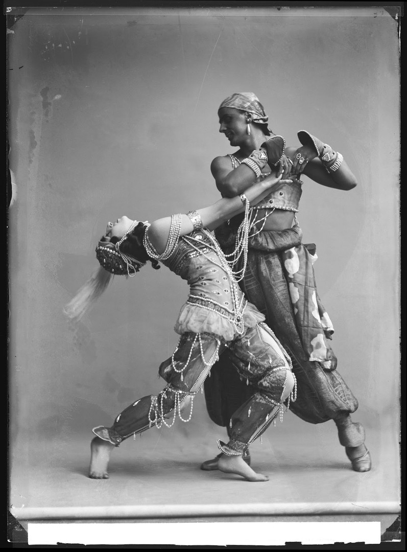 Ida Rubinstein and Vaslav Nijinsky, Schéhérazade, 1910