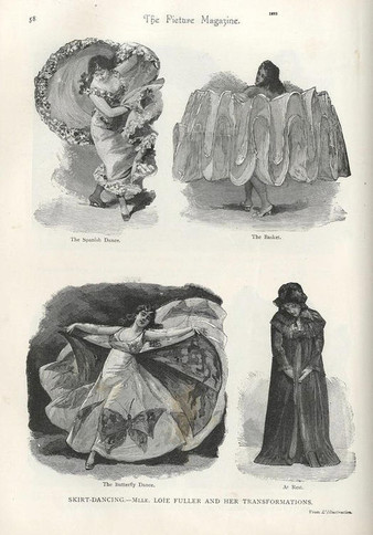 Loïe Fuller and her many transformations