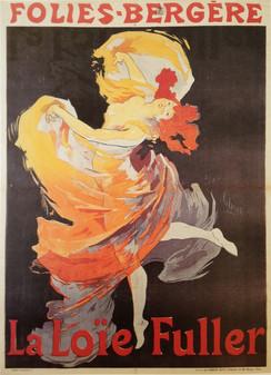 Folies-Bergère, La Loïe Fuller, 1893