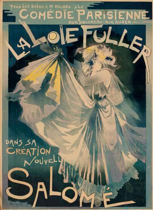 Comedie Parisienne, La Loïe Fuller Dans Sa Création Nouvelle, Salomé