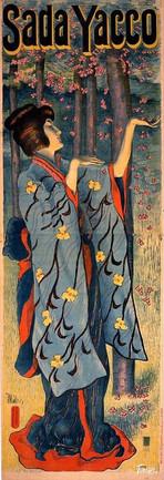 Sada Yacco or Sadayakko, 川上 貞奴 Kawakami Sadayakko (1871-1946) - France - 1899-1900. Alfredo Müller (1869-1939)