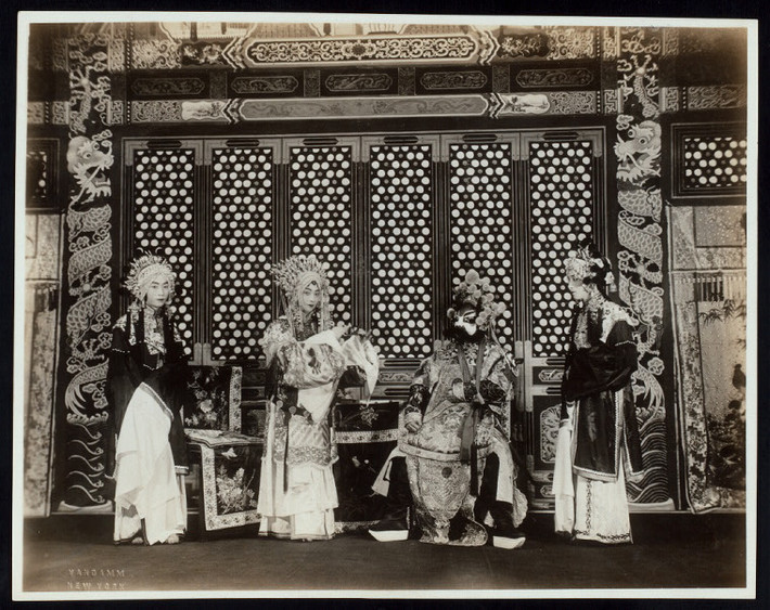 Mei Lanfang as Lady Fei in Killing The Tiger General perfromed in the U.S.