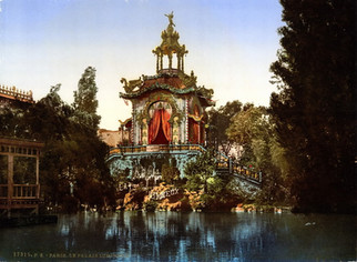 The Palace Lumineux, Exposition Universal, 1900, Paris, France.