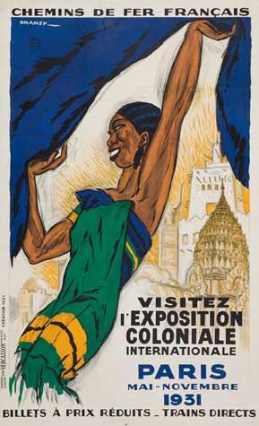 International Colonial Exhibition Paris 1931 Poster