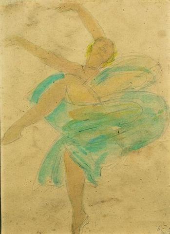 Auguste Rodin, Loïe Fuller, 1893