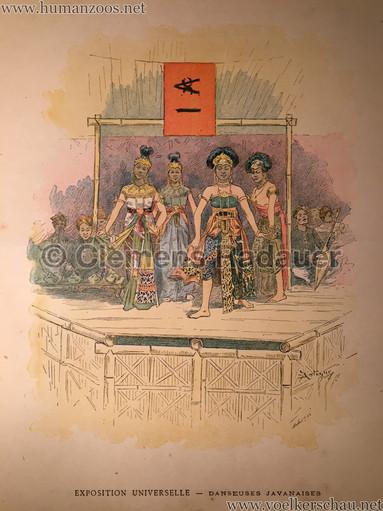 1889 Exposition Universelle Paris - Danseuse Javanaises