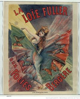La Loie Füller aux Folies-Bergère