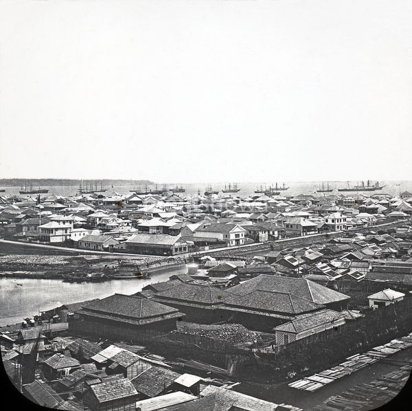 View on Yokohama, 1860s
