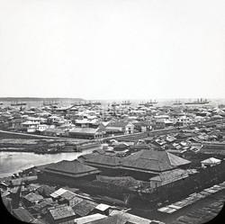 View on Yokohama, 1860s