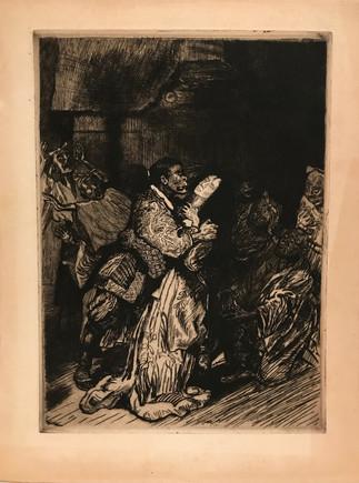 Mort de la Geisha (Sada Yacco) (c. 1900) by Pierre-Georges Jeanniot