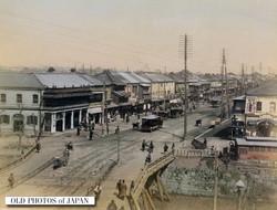 Shinbashi Bridge Ginza, 1880s