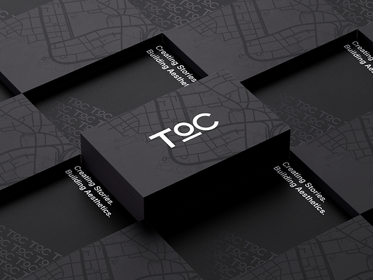 TOC Business Card Vector