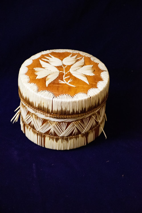 Micmac Quill Basket