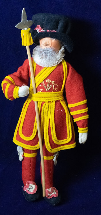 Beefeater Coronation Doll