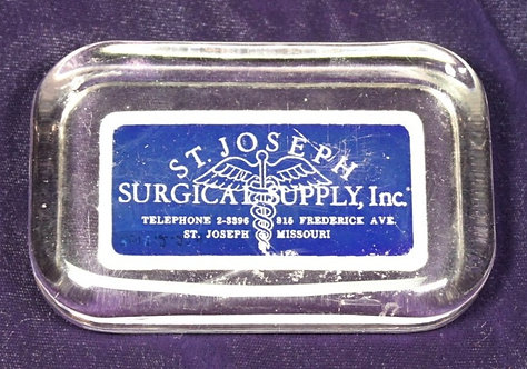 St. Joseph Surgical Supply Paper Weight