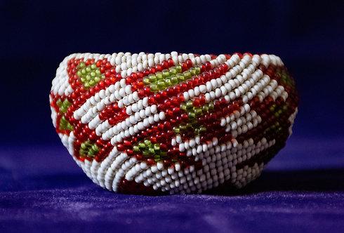 Paiute Beaded Basket