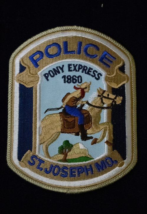 """Pony Express 1860"" Police Patch"