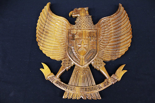 Indonesian Golden Garuda Carving