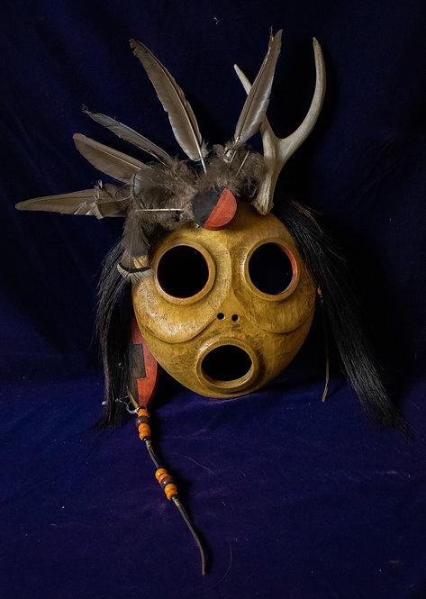 Gerard Rancourt Tsonakwa Abenaki Mask