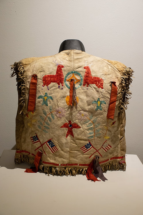 Sioux Vest with Quill Decorations