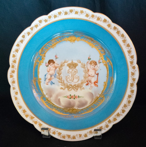 Tootle Cherub Design Plate
