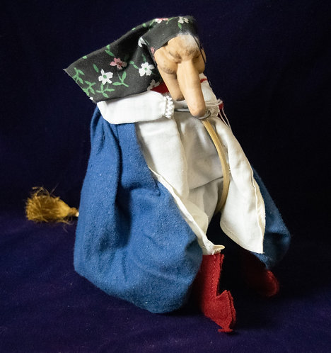 Good Luck Kitchen Witch Doll