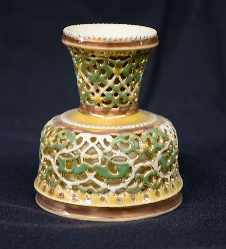 Five Temple Symbol Vase