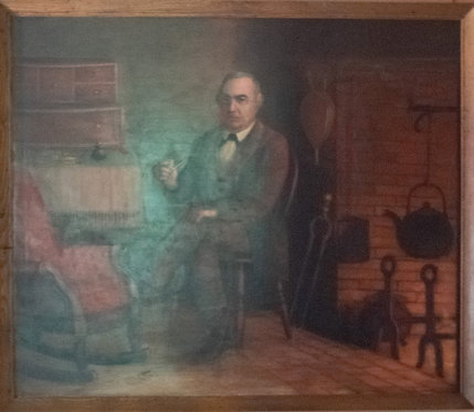 Joseph Robidoux Oil Painting