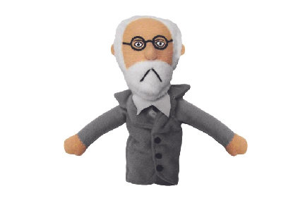 Sigmund Freud Magnetic Personality Puppet